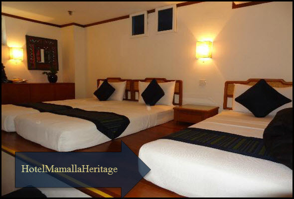 Mahabalipuram and low budget hotels hotel mamalla heritage for Low budget hotel