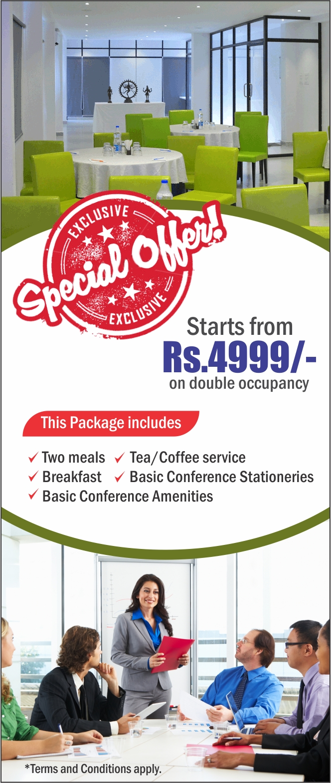 Mamalla Conference Hall Special Offer