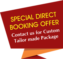 Special Direct Booking Banner