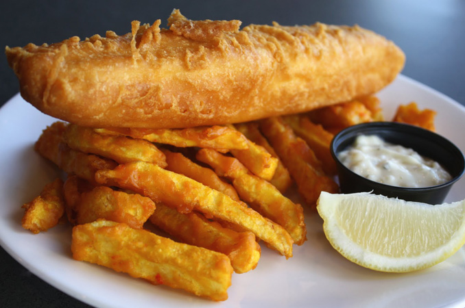 Waves restaurant best non vegetarian restaurant for Wave fish and chips